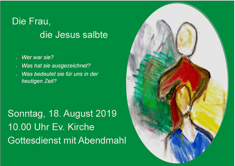 Plakat Frauengottesdienst